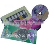 DIY Nail Art Stamping Printing Machine with Color Varnish Polish