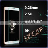 9H 2.5D Custom Made Tempered Glass Screen Protector For Samsung Note 4