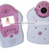 1.5'' TFT Full Color Infant Guarder Moniter Pink Color Wireless Long Distance Cheap Baby Camera Monitor