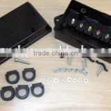 Z80001 Heavy plastic Trailer Wiring Junction Box for 7 Way Trailer Wire Connectors/7 pole weather proof junction box