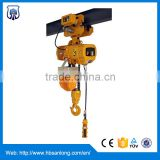 2ton KITO dual speed electric chain hoist crane