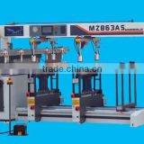 2 rows wood carpenter boring machine