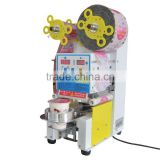 full automatic and intelligent plastic cup filling and sealing machine for bubble tea cup