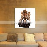 Beautiful home decoration buddha canvas oil painting
