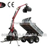 Hydraulic Tipping Box Horse Trailer