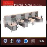 Hi-tech newly design glass board office partition
