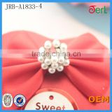New Crystal Rhinestone Shank Pearl Rhinestone Wedding Button