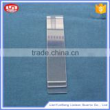 New design OEM acceptted square shape and clear quartz plate type fused quartz glass plate