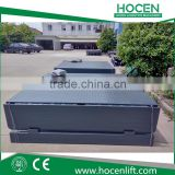 Used Truck, Trailers Loading Ramps Electric Stationary Hydraulic Dock Leveler For Warehouse Lift Cargo