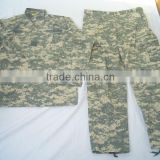 BDU Camouflage Military Uniform, Jacket with Pants set