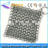 Chain Mail Pot Scrubber mesh