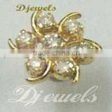 Diamond Nose Pins, Gold Nose Pins, Nose Pin Jewellery