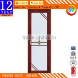 Waterproof Thermal PVC Toilet Door PVC Bathroom Door Price High Quality Bathroom Shutter Door Wholesale Price