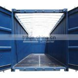 20 Feet & 40 Feet Open Top Container, (With removable tarpaulin, for oversized cargo shipping) (