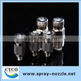 Stainless/Brass Anti-drip Fine Fogging Nozzle, Fog Spray Nozzle