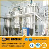 1-5TPD factory price palm oil refinery/crude oil refining machine/ oil refining plant