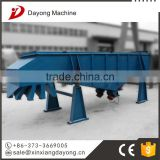 CE sand xxnx hot linear vibrating sieve for glass powder particle