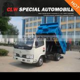 dongfeng 4*2 3tons dump garbage truck