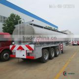 3 Axles Aluminum Alloy Aviation fuel Trailer 55m3