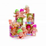 different design plastic expression doll face plastic toy with EN71