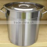 LOW MOQ commercial stock pot food bucket customized size support
