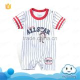 SR-278B baby romper blank latest embroidery designs punjabi suits pictures stripe children's set