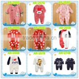 wholesale baby clothes romper baby wear new born baby frock design organic cotton bodysuit