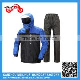 Blue Reflective High Visibility Waterproof Motorcycle Safety Jacket