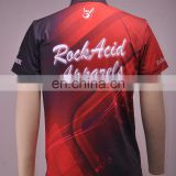 Wholesale custom sublimated bowling shirts for men