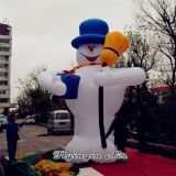 5m Height Christmas Decorations Inflatable Snowman for Outdoor