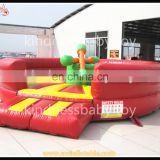 Crazy Funny Game inflatable gladiator jousting arena sport game,inflatable round joust arena for sale