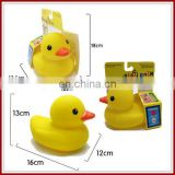 Baby bath shantou funny rubber duck toys