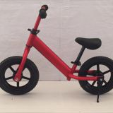 Balance bike EVA wheel, aluminum frame with shock damper