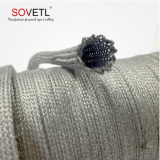 Stainless steel fiber braid tube cable sleeve