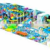 classic Plastic Toys Series kids favorite lovely plastic playground with Slide