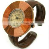 2012 hot sell wooden meterial bangle Watch