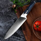 VG10 Real Japanese Damascus Chef Knife 71 Layers Stain Corrosion Resistant Damascus Steel Knife