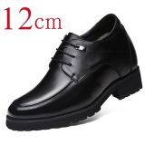 men height increasing 12 CM elevator dress derby shoes
