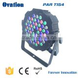 Best offer and high quality Led 54*1W rgbw 4in1 par light super slim DJ lights for Party indoor use