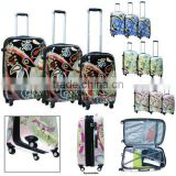 3 Piece Set Pc Abs Trolley Luggage