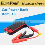 Multifunctional 12V 12000mAH Emergency Power Bank Mini Car Jump Starter With SOS light