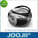 usb sd mp3 cd boombox am fm portable radio