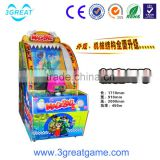 Funny coin operated shooting ball redemption game machine
