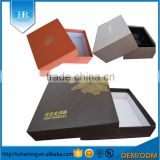 Customized paper box gift box packaging box printed design logo /different types gift packing box