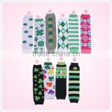 Festival Items Baby cotton Soft Clover knitted Leg Warmers arm warmers