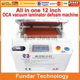 2 in 1 LCD Refurbish Machine Vacuum Glass Laminating Machine And Bubble Remover Machine