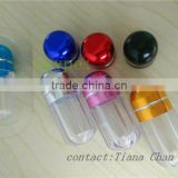 extract powder male sex capsule packaging bottles with metal cap/capsules bottle/FX 7000/FX 3000/Black mamba 9000 bullet