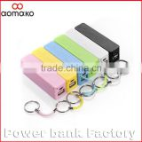 perfume power bank 2600MAH L301 usb mini external battery pack mobile charger for iphone samsung phones