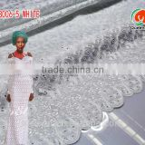 SB006-5 white Summer clear hot sale african organza lace fabric/organza lace/organza lace fabric