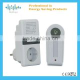 2012 smart wireless free socket outlet door bell for home